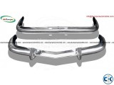 BMW 2800 CS bumper 1968-1975 by stainless steel