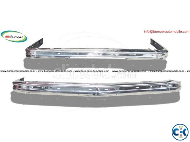 BMW E21 bumper 1975-1983 by stainless steel | ClickBD large image 0