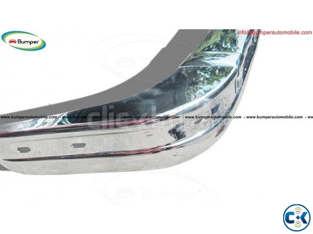 BMW E21 bumper 1975-1983 by stainless steel | ClickBD large image 1