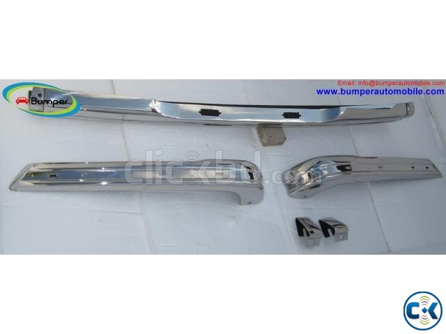 BMW E21 bumper 1975-1983 by stainless steel | ClickBD large image 4