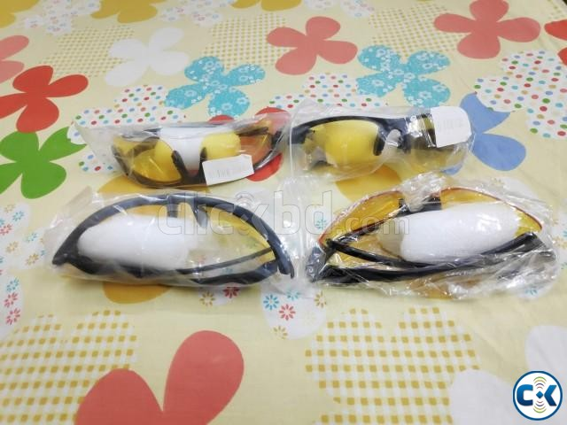 New Biking Night Vision Glass Goggles Military Grade  | ClickBD large image 0
