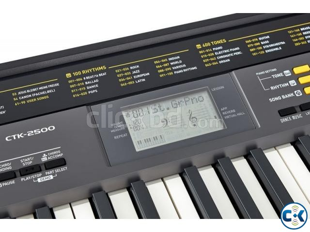 Brand New Intact CASIO CTK-2500 61 Keys S-PRO  | ClickBD large image 2