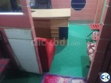 Office Room Sublet at Banasree Rampura Dhaka