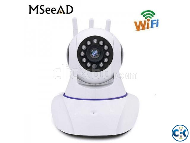 V380 Wi-Fi IP Smart Net CCTV Camera Dual Antenna | ClickBD large image 3