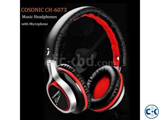Cosonic CH-6073 Stereo Headset | ClickBD large image 0