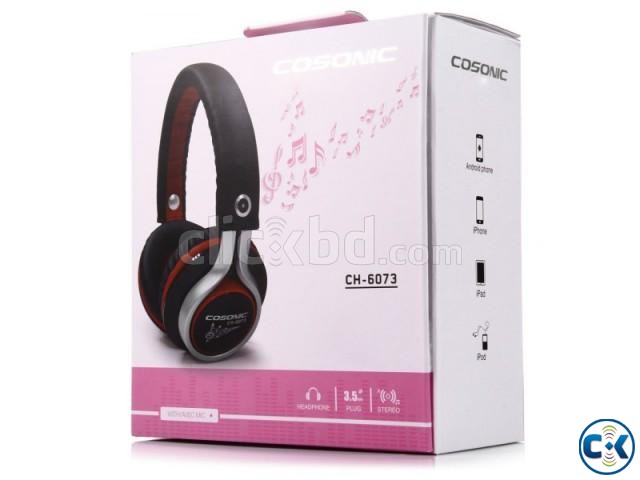 Cosonic CH-6073 Stereo Headset | ClickBD large image 4