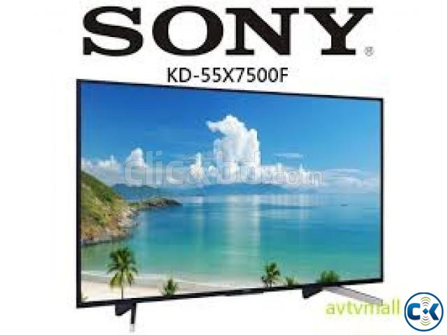 Sony Bravia KD-55 Inch X7500F 4K Ultra HDR LED Smart TV | ClickBD large image 0