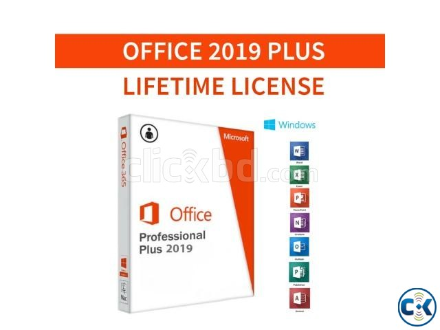 Microsoft Office 2019 Pro Plus Lifetime License | ClickBD large image 0