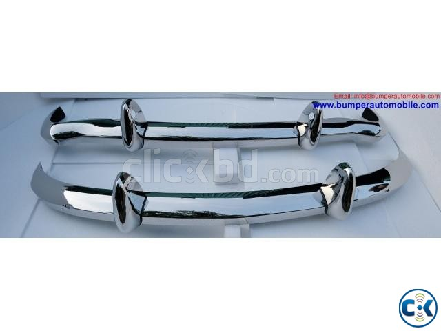 MGB 1962-1974 bumpers by stainless steel | ClickBD large image 0