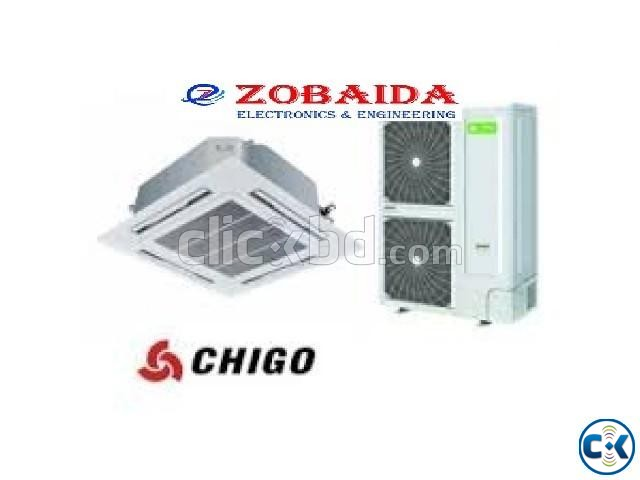 4.0 Ton CHIGO Celling Cassette Type Air - Conditioner AC | ClickBD large image 3