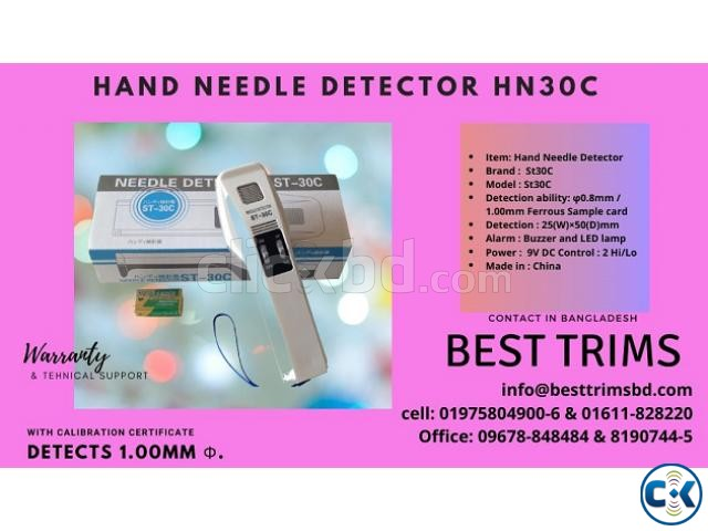 Hand Needle Detector St30C | ClickBD