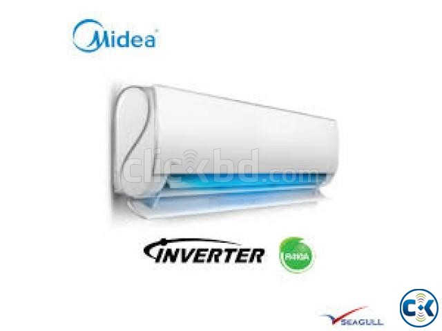 Inverter Series 1.5 Ton Midea AC 60 Energy Saving | ClickBD large image 0