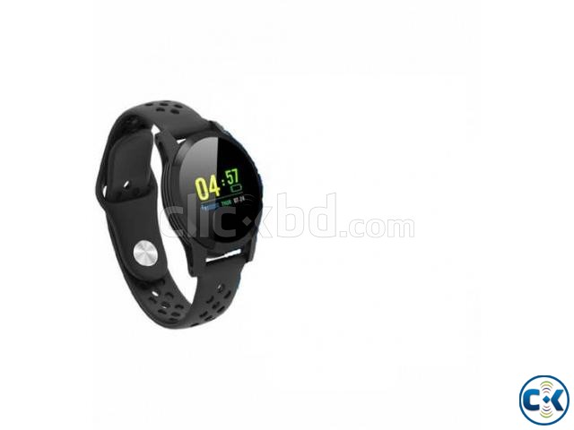 117 Plus Smart Band Colorful Screen Blood Pressure | ClickBD large image 1