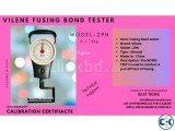 Bond test Vilene fusing bond test