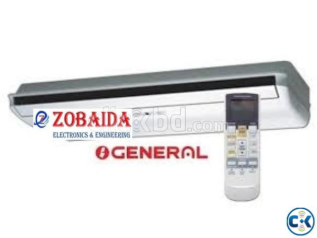 Thailand Assembled 3.0 TON General Celling Cassette Type AC | ClickBD large image 2