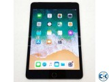 New Condition Apple ipad MINI 4 128GB GREY ONLY WIFI