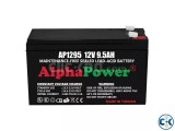 AlphaPower Battery 12V 9.5Ah 20HR for UPS Others From Taiwan
