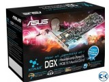 Asus Xonar DGX pci express 5.1 7.1sound card