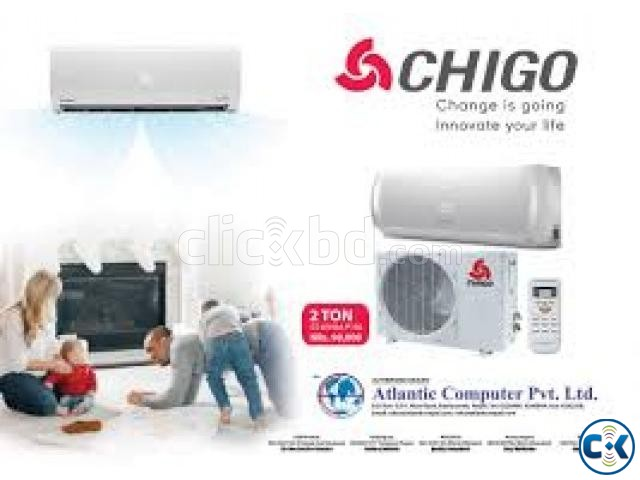 Chigo Elite Air Conditioner 1.0 Ton home Delivery NEW | ClickBD large image 0