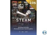 Steam 10 gift card