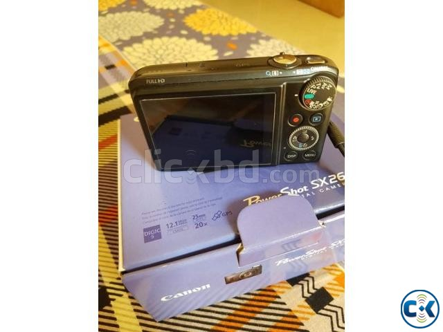Canon sx260hs with full box. | ClickBD large image 0