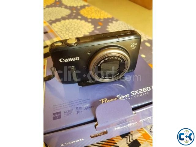 Canon sx260hs with full box. | ClickBD large image 1