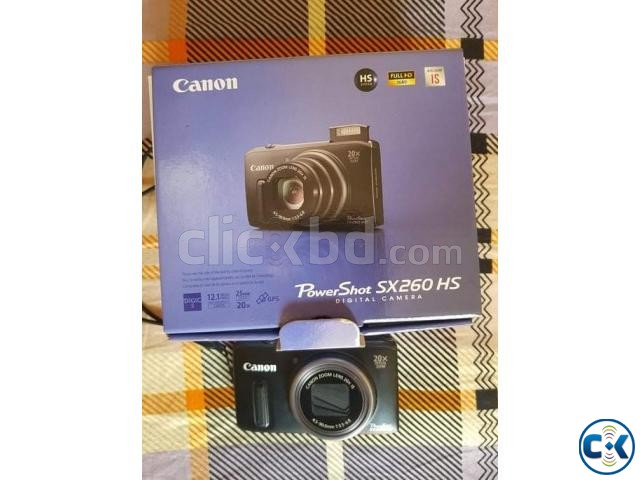 Canon sx260hs with full box. | ClickBD large image 2