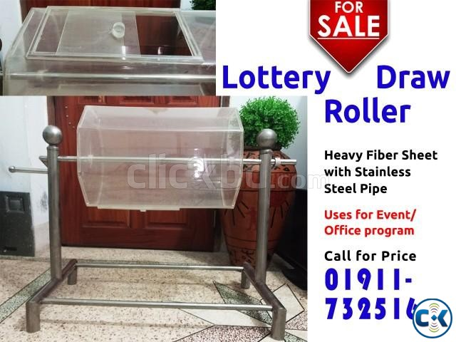 Lottery Draw Roller Box and Comment Box | ClickBD large image 1
