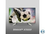 Sony Bravia KD-43X7000F 43 Flat 4K Edge LED Smart TV