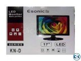 ESONIC ES1701 17 Square LED Monitor