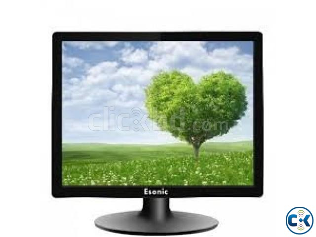 ESONIC ES1701 17 Square LED Monitor | ClickBD large image 1