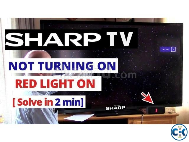 SHARP LED LCD 4K 3D SMART TV SERVICING CENTER 01686595415  | ClickBD large image 0