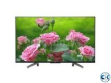 49 Inch SONY BRAVIA 49X8000G 4K ANDROID TV