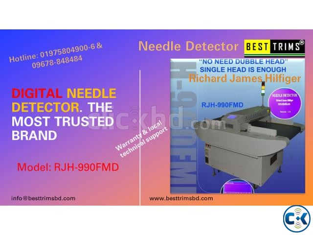 Needle Detector like Hashima . Richard James Digital in Bang | ClickBD large image 0