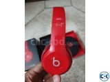 Original Beats by Dr. Dre Solo2 Wired On-Ear Headphones RED