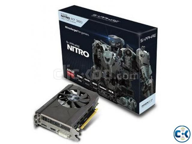 Sapphire Nitro R7 360 DDR5 2GB Gaming AGP Graphics Card | ClickBD large image 0
