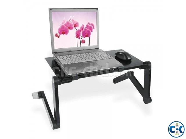Omeidi Laptop Table T6 laptop stand with cooler | ClickBD large image 0