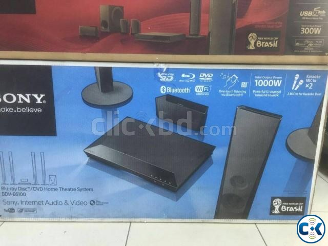 Sony BDV-E6100 5.1 Blu-ray 3D Bluetooth Home Theatre System | ClickBD large image 1