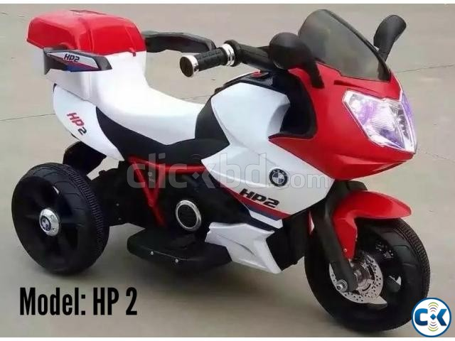Brand New Stylish Baby Motor Bike | ClickBD large image 0