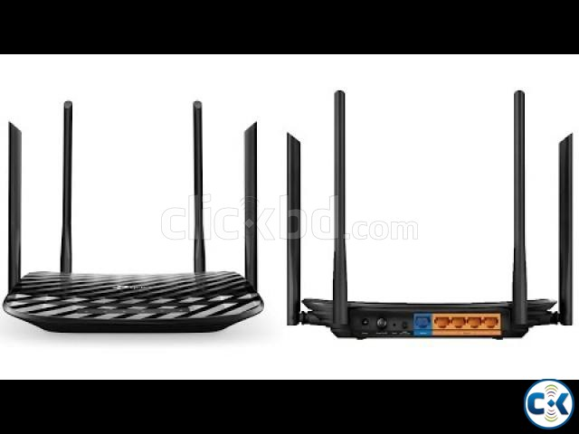 TP-Link Archer C6 AC1200 Wireless MU-MIMO Gigabit Router | ClickBD large image 1