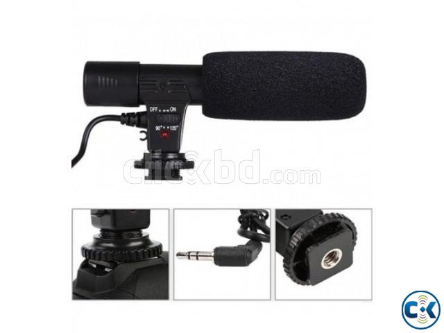 MIC-01 3.5mm Direction External Microphone For Canon Nikon D | ClickBD large image 0