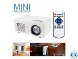 RD814 Mini LED Projector video Game Beamer AV SD USB Built-i