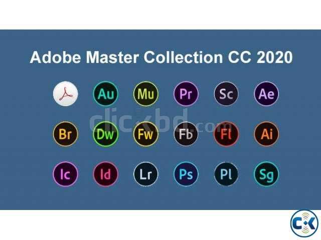 Adobe Master Collection 2020 for WIN MAC | ClickBD large image 0