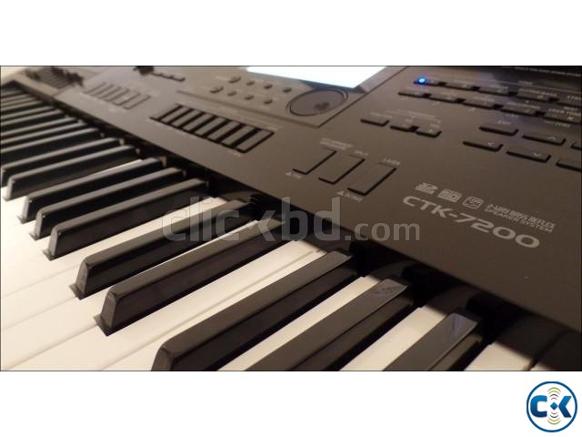 CASIO CTK-7200 HIGH-GRADE Keyboard Almost New  | ClickBD large image 0