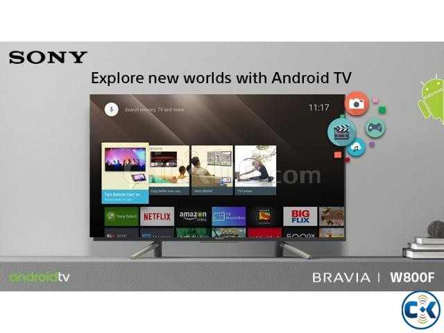 Sony Bravia X8000G 49 4K Android SMART Flat TV | ClickBD large image 0