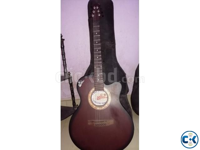 Acoustic signature guitar new condition | ClickBD large image 0
