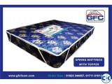 GFC soft spring mattress with topper 78x60x12