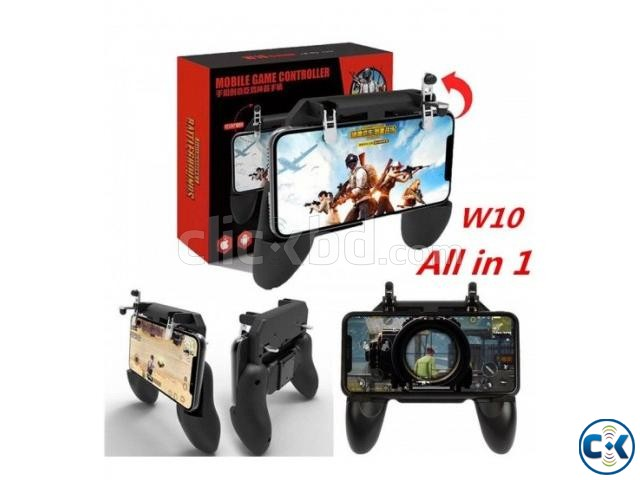 W10 PUBG Game Controller for Mobile Phone | ClickBD large image 0