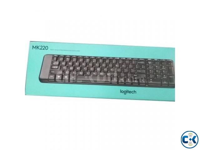 Wireless Keyboard Mouse Combo | ClickBD large image 0