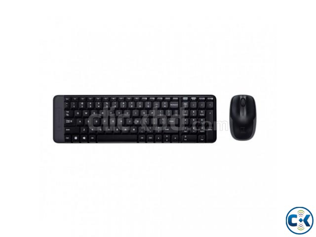 Wireless Keyboard Mouse Combo | ClickBD large image 1